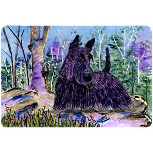 Carolines Treasures SS8666MP Scottish Terrier Mouse pad hot pad or trivet