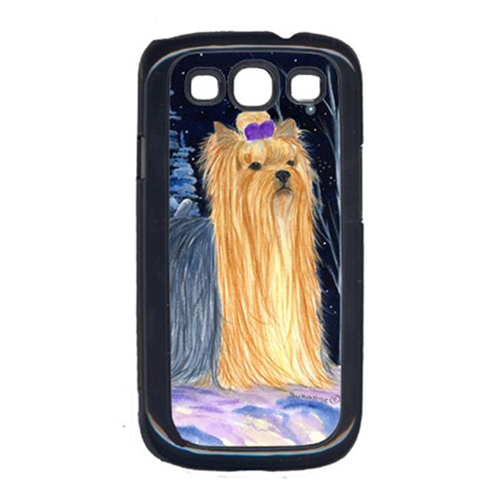 Carolines Treasures SS8365GALAXYSIII Starry Night Yorkie Galaxy S111 Cell Phone Cover