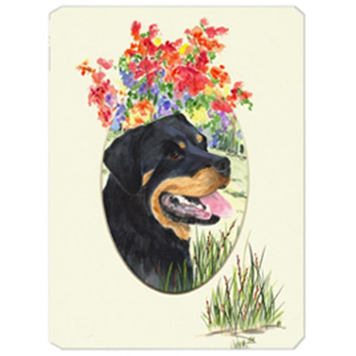 Carolines Treasures SS8055MP Rottweiler Mouse Pad Hot Pad & Trivet