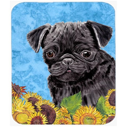 Carolines Treasures SC9062MP Pug Mouse Pad Hot Pad Or Trivet