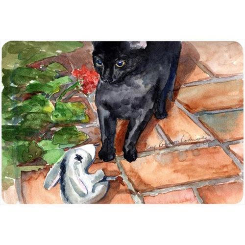 Carolines Treasures KR9034MP Cat Mouse Pad Hot Pad Or Trivet