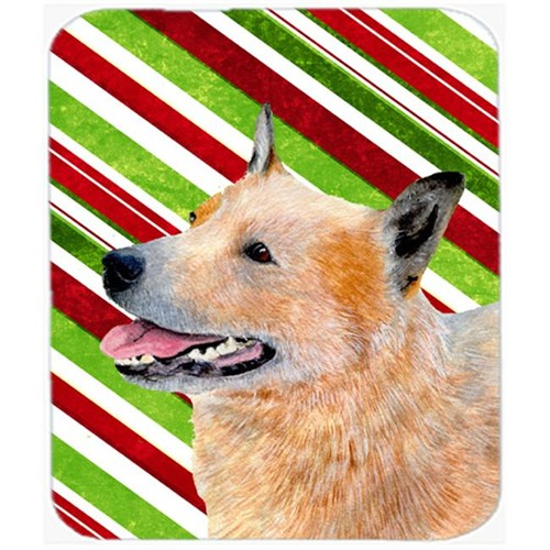 Carolines Treasures LH9227MP Australian Cattle Dog Candy Cane Holiday Christmas Mouse Pad Hot Pad Or Trivet