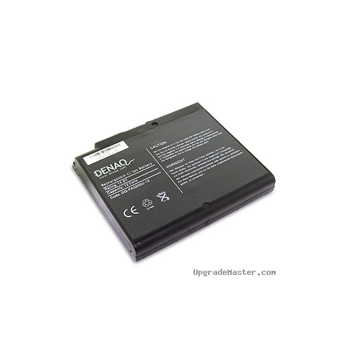 Denaq DQ-PA3250U-12 High Capacity Battery for Toshiba Satellite A30 Laptops- 6600mAh
