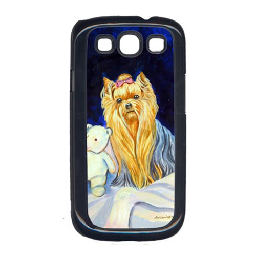 Carolines Treasures 7221GALAXYSIII Yorkie And Teddy Bear Galaxy S111 Cell Phone Cover