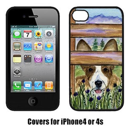 Carolines Treasures SS8254IP4 Corgi Cell Phone cover IPhone 4