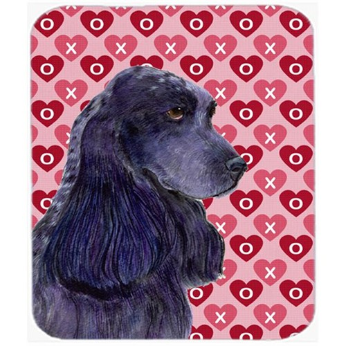 Carolines Treasures SS4471MP Cocker Spaniel Hearts Love And Valentines Day Mouse Pad Hot Pad Or Trivet