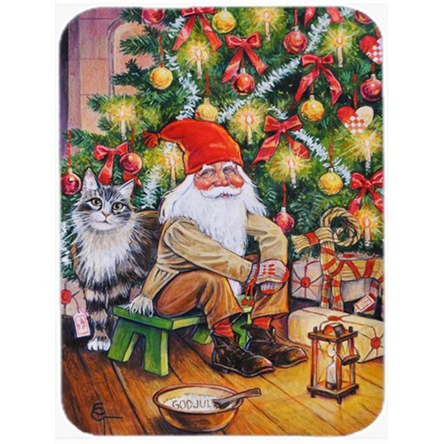 Carolines Treasures ACG0134MP Christmas Gnome by the Tree Mouse Pad Hot Pad or Trivet