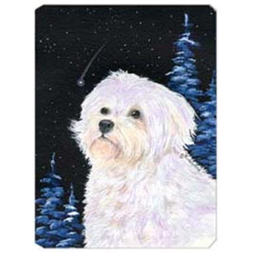 Carolines Treasures SS8461MP Starry Night Maltese Mouse Pad