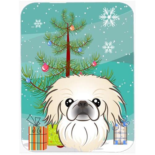 Carolines Treasures BB1593MP Christmas Tree And Pekingese Mouse Pad Hot Pad & Trivet