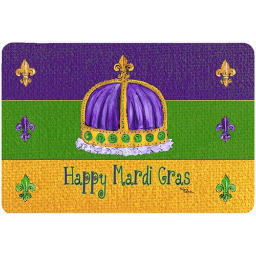 Carolines Treasures 8385MP 9.5 x 8 in. Mardi Gras Mouse Pad Hot Pad Or Trivet