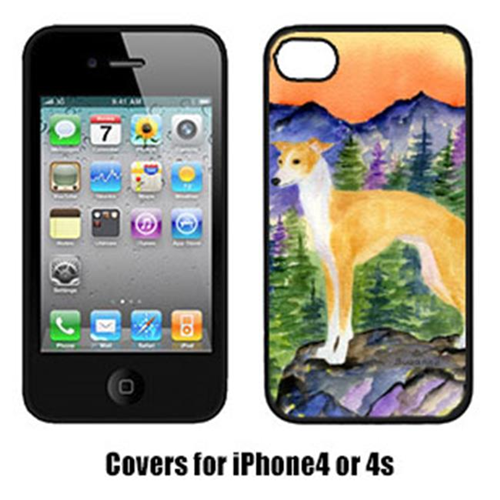 Carolines Treasures SS8225IP4 Italian Greyhound Cell Phone cover IPhone 4