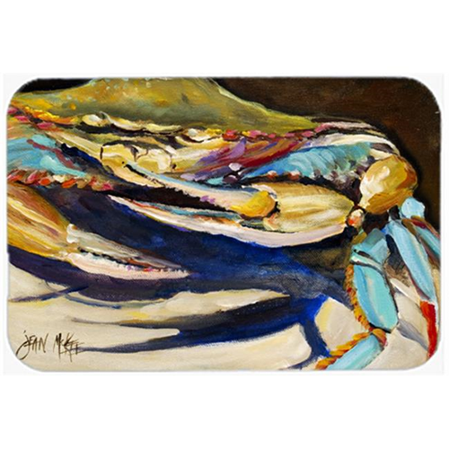 Carolines Treasures JMK1100MP Crab To Crab Blue Crab Mouse Pad Hot Pad & Trivet
