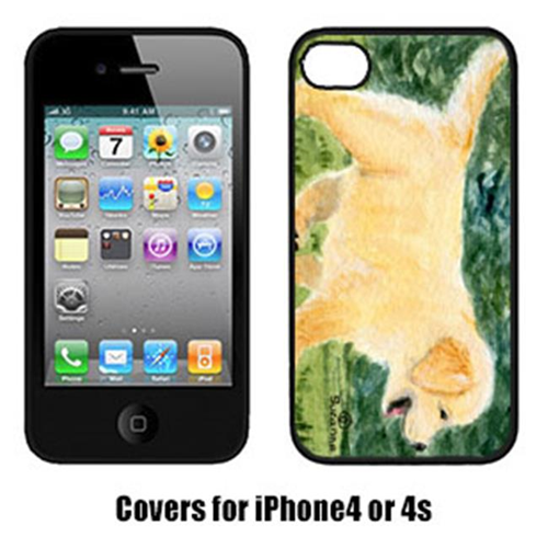 Carolines Treasures SS8859IP4 Golden Retriever Iphone 4 Cover
