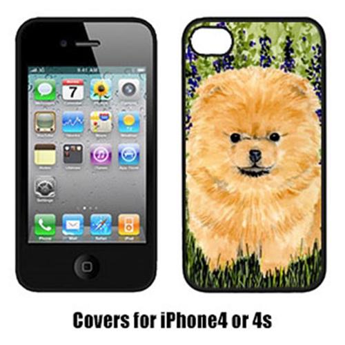 Carolines Treasures SS8746IP4 Pomeranian Iphone4 Cover