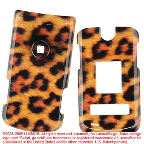 DreamWireless CALG8600LE LG 8600 Crystal Case Leopard
