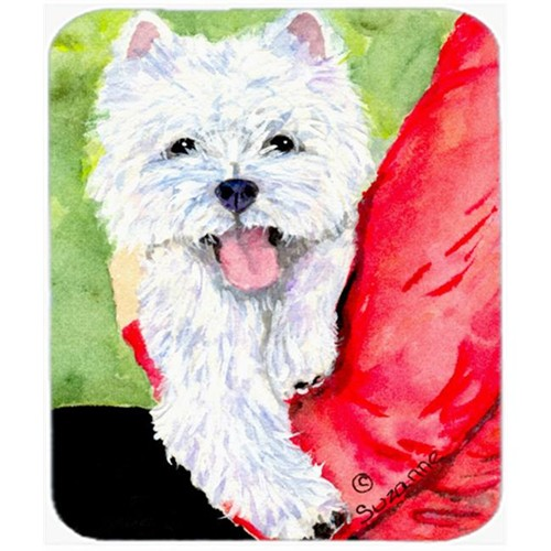 Carolines Treasures SS8784MP Westie Mouse Pad Hot Pad Or Trivet