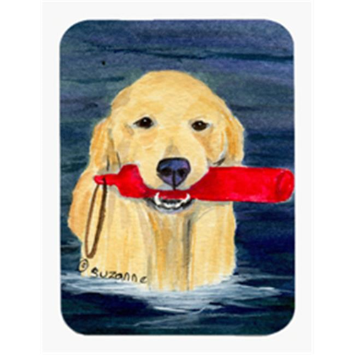 Carolines Treasures SS8868MP Golden Retriever Mouse Pad & Hot Pad Or Trivet