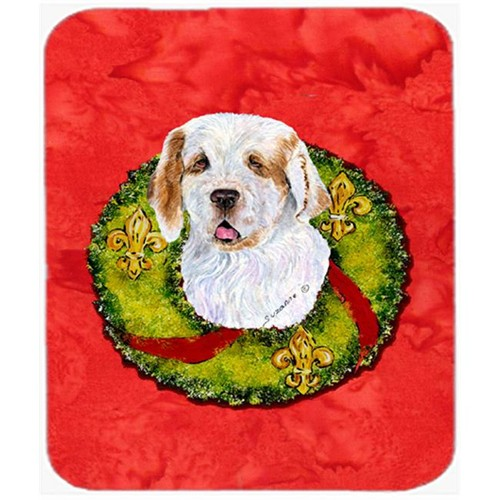 Carolines Treasures SS4189MP Clumber Spaniel Mouse Pad Hot Pad or Trivet