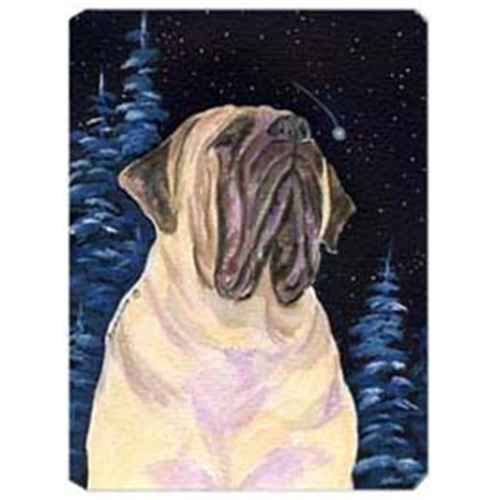 Carolines Treasures SS8448MP Starry Night Mastiff Mouse Pad
