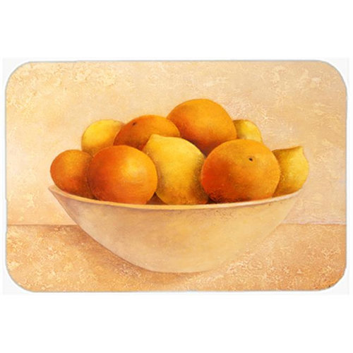 Carolines Treasures BABE0085MP Oranges & Lemons in a Bowl Mouse Pad Hot Pad or Trivet