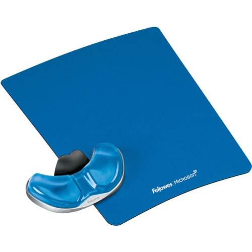 Fellowes 9180601 Gliding Palm Suport Blue