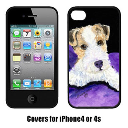 Carolines Treasures SS8971IP4 Fox Terrier Cell Phone Cover Iphone4