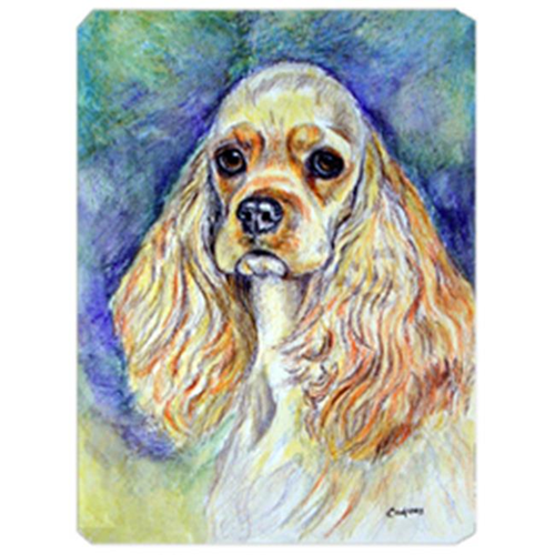 Carolines Treasures 7178MP 8 x 9.5 in. Blonde Tan Cocker Spaniel Mouse Pad Hot Pad Or Trivet
