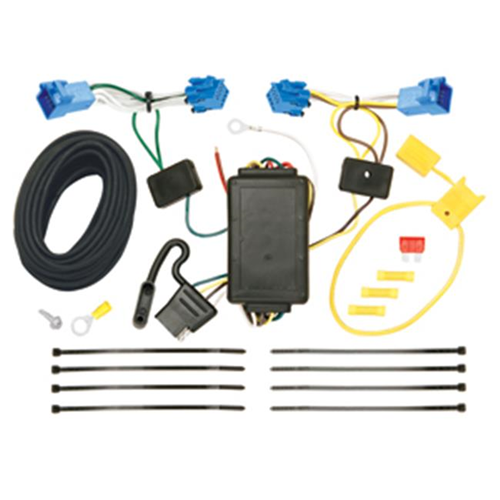 Tow Ready 118535 T-One Connector Assembly With Upgraded Circuit Protected Modulite Module 4 x 5.60 x 9 in.