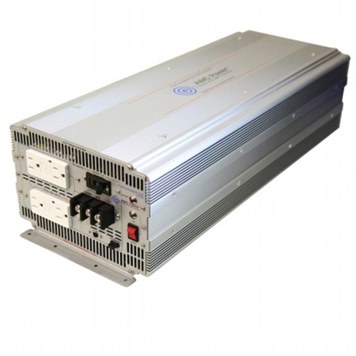 AIMS Power PWRIG500024120S 5000 Watt 24 Volt Pure Sine Power Inverter with GFCI outlets