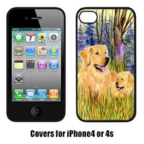 Carolines Treasures SS8014IP4 Golden Retriever Iphone 4 Cover