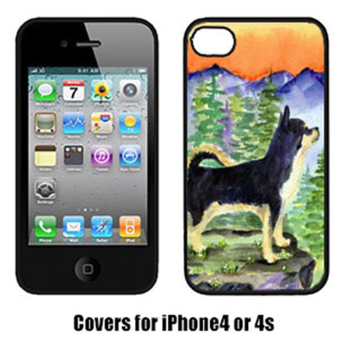 Carolines Treasures SS8230IP4 Chihuahua Cell Phone cover IPhone 4