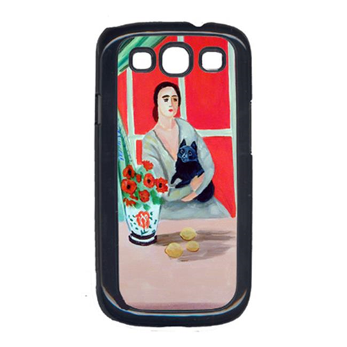 Carolines Treasures 7269GALAXYSIII Lady With Her Schipperke Cell Phone Cover Galaxy S111
