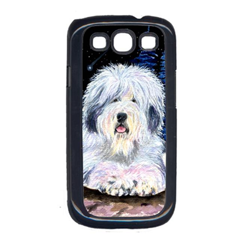 Carolines Treasures SS8443GALAXYSIII Starry Night Old English Sheepdog Cell Phone Cover Galaxy S111