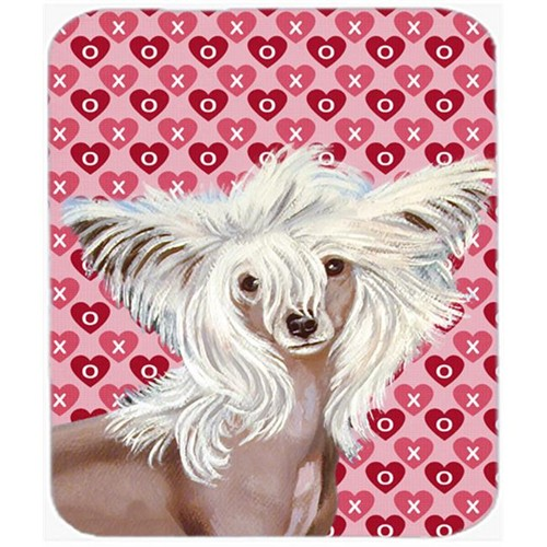 Carolines Treasures LH9167MP Chinese Crested Hearts Love And Valentines Day Mouse Pad Hot Pad or Trivet