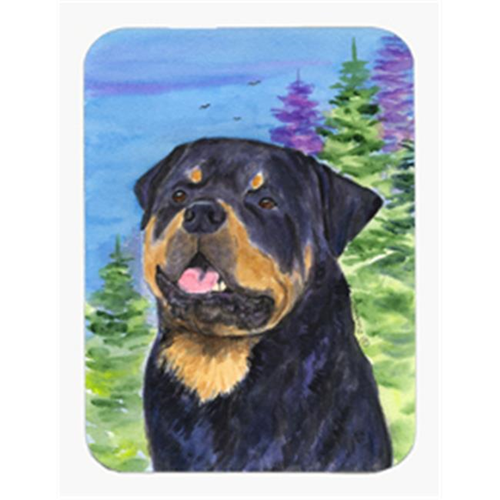 Carolines Treasures SS1026MP 8 x 9.5 in. Rottweiler Mouse Pad Hot Pad or Trivet