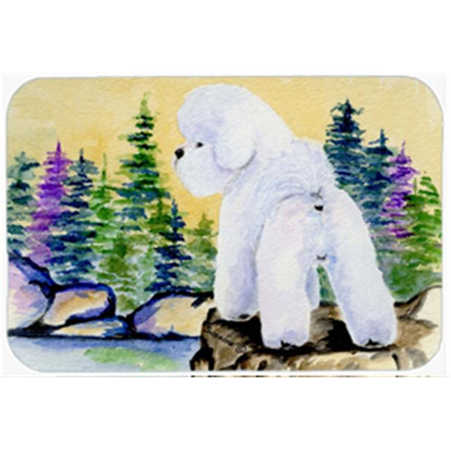 Carolines Treasures SS8010MP 8 x 9.5 in. Bichon Frise Mouse Pad Hot Pad or Trivet