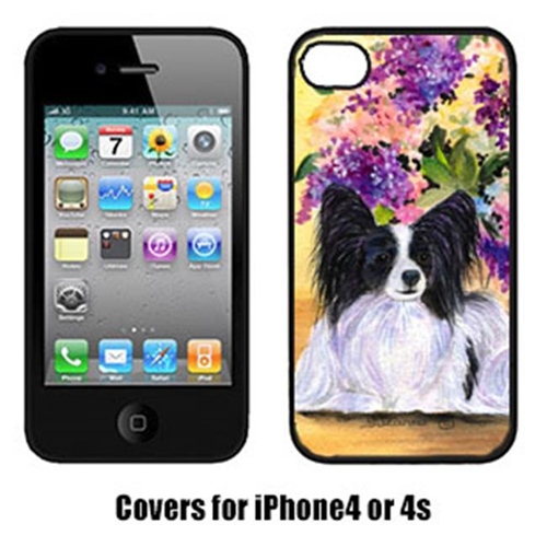 Carolines Treasures SS8288IP4 Papillon Cell Phone cover IPhone 4