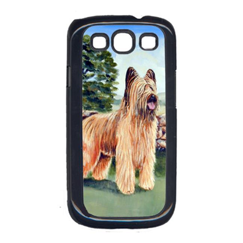 Carolines Treasures 7003GALAXYSIII Briard by the stone fence Cell Phone Cover Galaxy S111