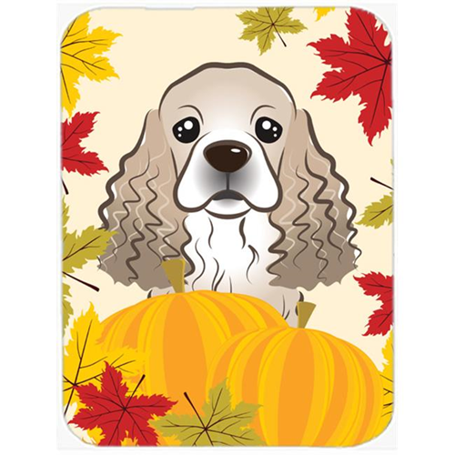 Carolines Treasures BB2022MP Cocker Spaniel Thanksgiving Mouse Pad Hot Pad or Trivet