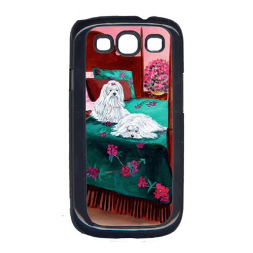 Carolines Treasures 7110GALAXYSIII Maltese Waiting On Mom Cell Phone Cover Galaxy S111