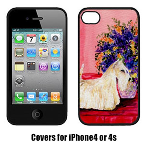Carolines Treasures SS8306IP4 Scottish Terrier Cell Phone cover IPhone 4