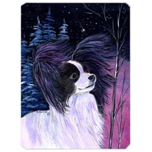 Carolines Treasures SS8377MP Starry Night Papillon Mouse Pad