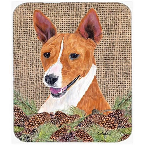 Carolines Treasures SC9036MP Basenji Mouse Pad Hot Pad Or Trivet