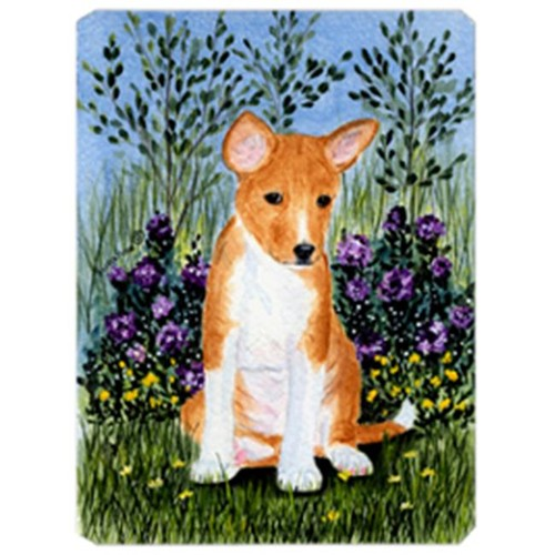 Carolines Treasures SS8108MP Basenji Mouse Pad Hot Pad & Trivet