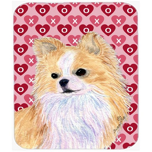 Carolines Treasures SS4473MP Chihuahua Hearts Love And Valentines Day Portrait Mouse Pad Hot Pad Or Trivet