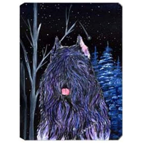 Carolines Treasures SS8394MP Starry Night Bouvier Des Flandres Mouse Pad