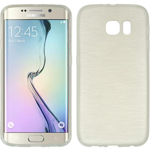 DreamWireless CSSAMS6EDGE-TS-WT Samsung Galaxy S6 Edge Crystal Skin Case Transparent White