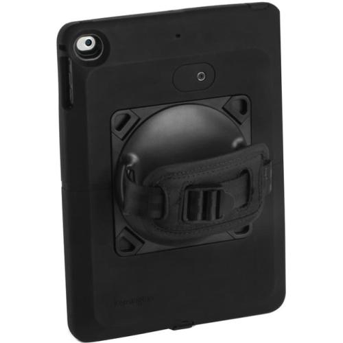 Kensington K97908WW SecureBack Rugged Carry Case for iPad Air & iPad Air 2 - Black