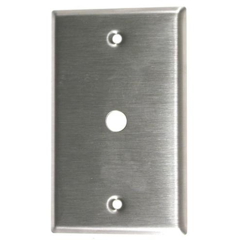 Leviton Single Gang Phone & Cable Wallplate 004-84061-04