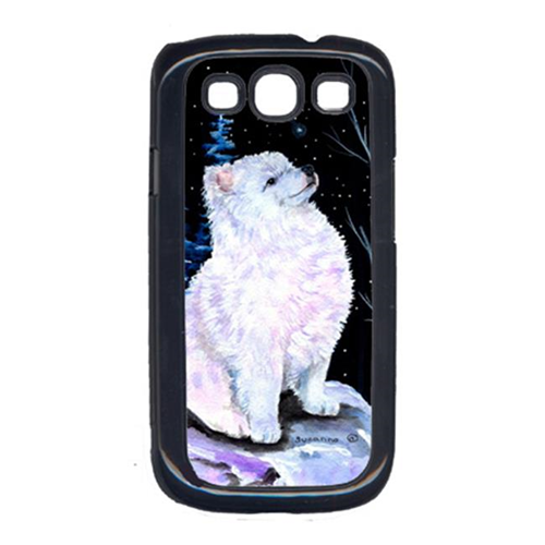 Carolines Treasures SS8389GALAXYSIII Starry Night American Eskimo Cell Phone Cover Galaxy S111